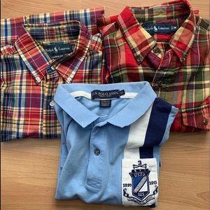 Vintage polo Ralph Lauren association stripe multi